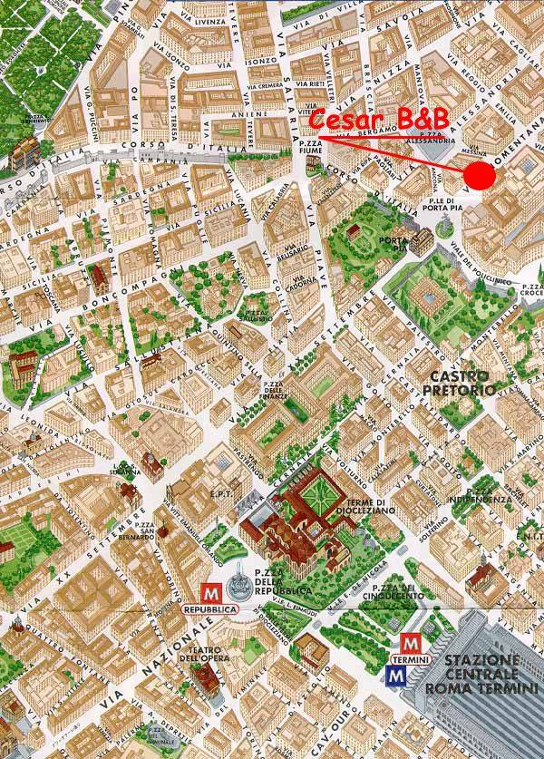 Cesar Palace, Rome, Italy, what is a backpackers hotel? Ask us and book now in Rome