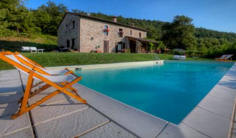 Casale San Bartolomeo -  Orvieto, bed & breakfasts near the music festival and concerts in Umbria, Italy 7 photos