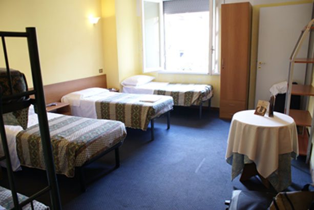 Hostel Gallo D'oro, Florence, Italy, how to select a hostel and where to eat in Florence