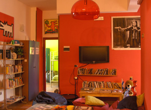 Hostel Of The Sun, Napoli, Italy, Italy bed and breakfasts en hotels
