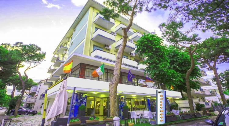 Hotel Hollywood, Riccione, Italy, relaxing bed & breakfasts and hotels in Riccione