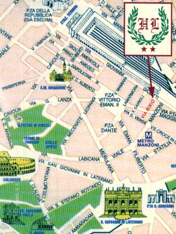 Hotel Lussemburgo, Rome, Italy, Italy hostels and hotels