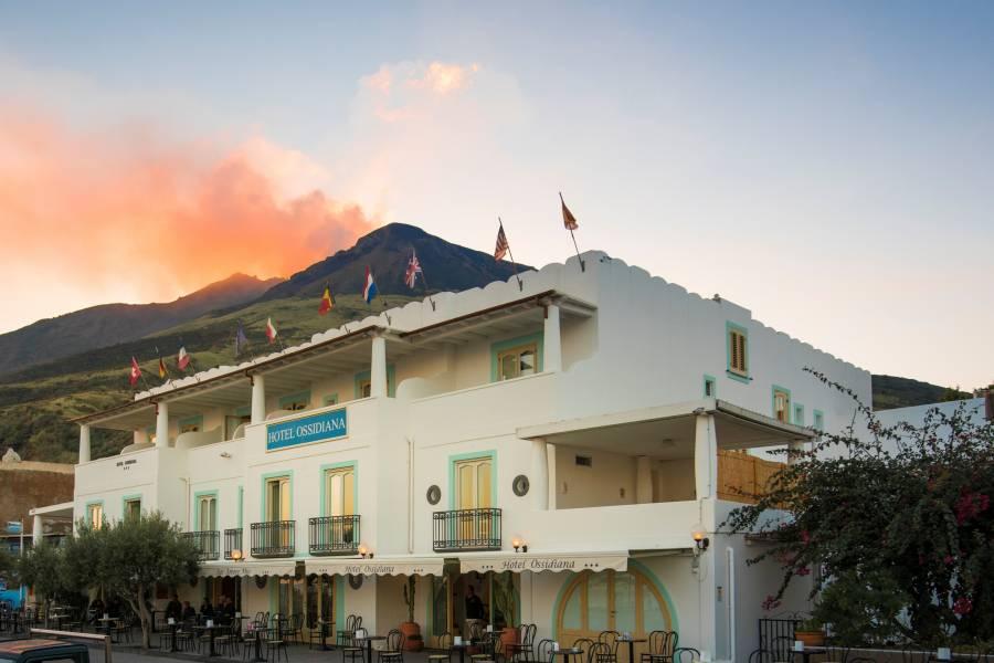 Hotel Ossidiana, Stromboli, Italy, Italy hostels and hotels