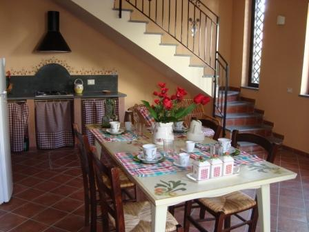 Bed and breakfast La Rena Rossa, Nicolosi, Italy, find bed & breakfasts with restaurants and breakfast in Nicolosi