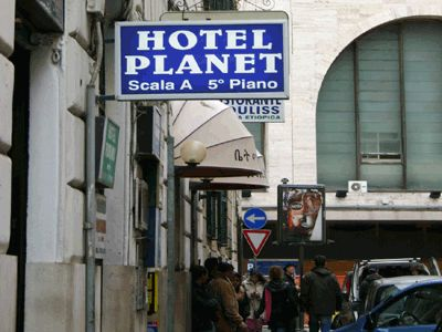Planet Hotel, Rome, Italy, Italy hostels and hotels