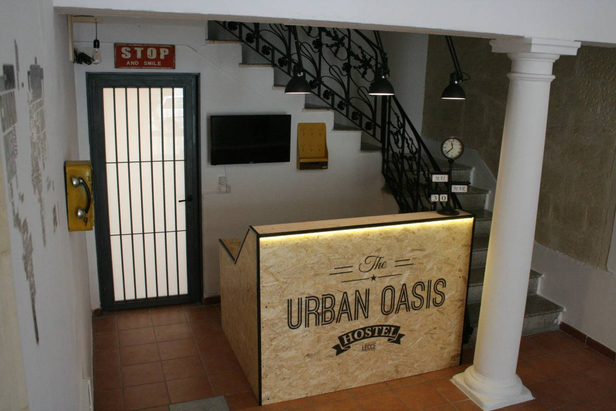 Urban Oasis Hostel, Lecce, Italy, travel hostels for tourists and tourism in Lecce