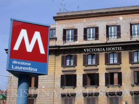 Victoria Hostel, Rome, Italy, Italy vandrarhem och hotell