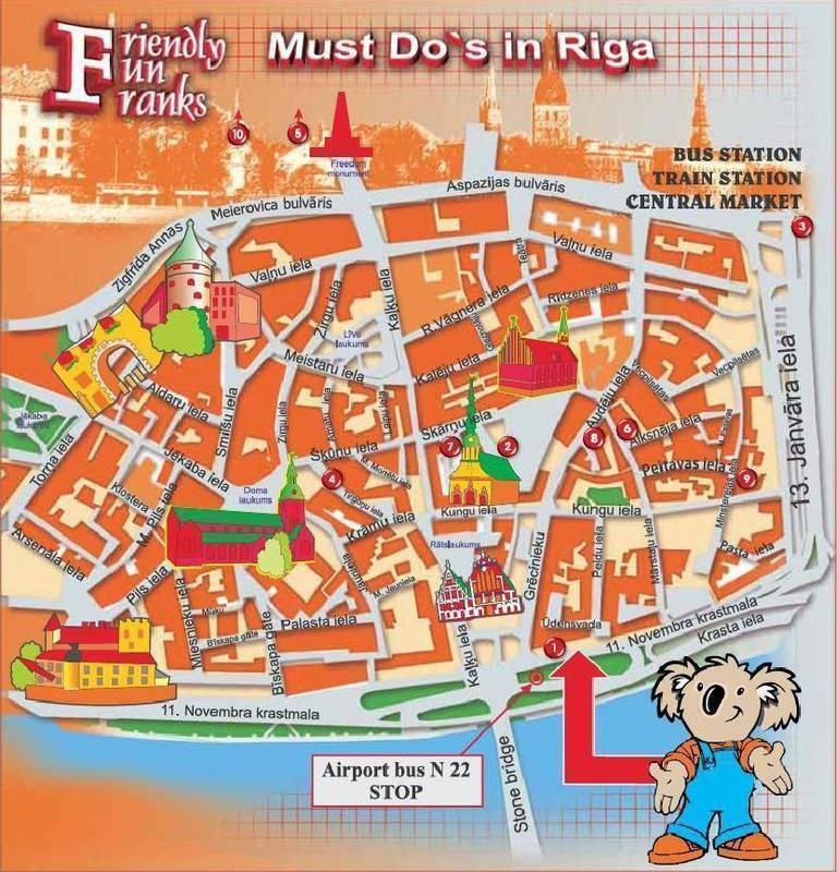 Friendly Fun Franks, Riga, Latvia, Pas na úspory na cestách a lůžku & Snídaně v Riga