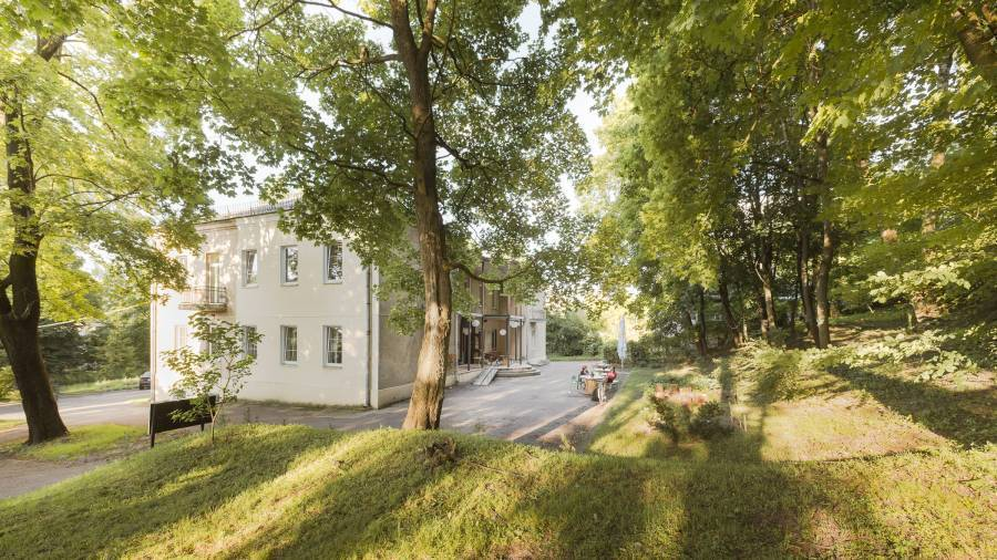 Downtown Forest Hostel and Camping, Vilnius, Lithuania, save on bed & breakfasts with BedBreakfastTraveler.com in Vilnius
