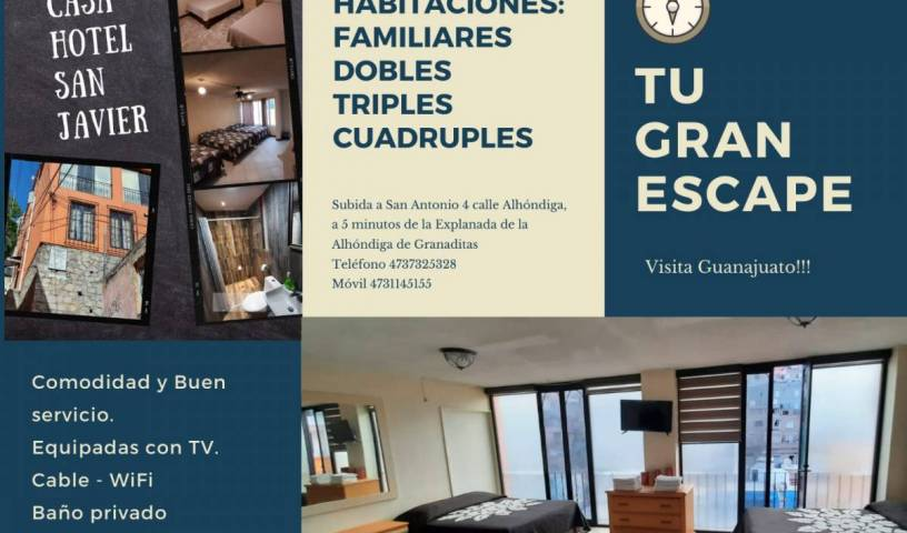 Casa Hotel San Javier - Search available rooms and beds for hostel and hotel reservations in Guanajuato 10 photos