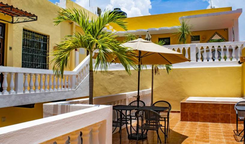 Hotel del Peregrino - Search available rooms and beds for hostel and hotel reservations in Merida 12 photos
