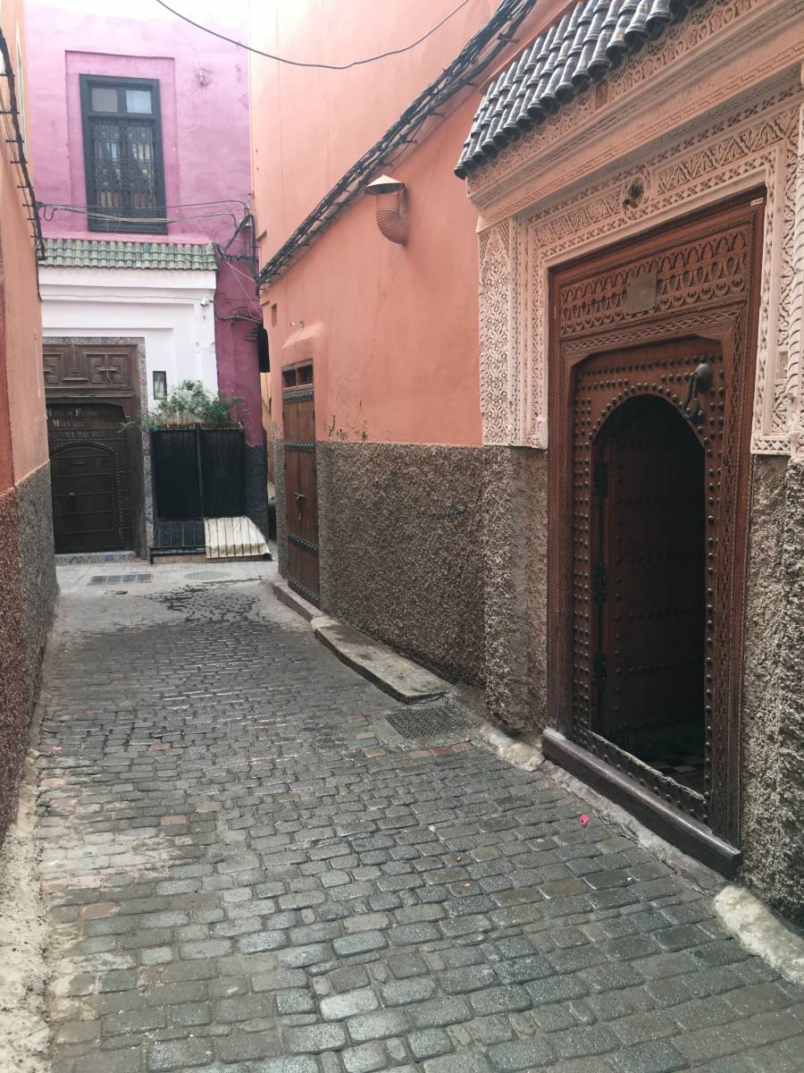 Riad Blue Berber, Marrakech, Morocco, rural hostels and backpackers in Marrakech