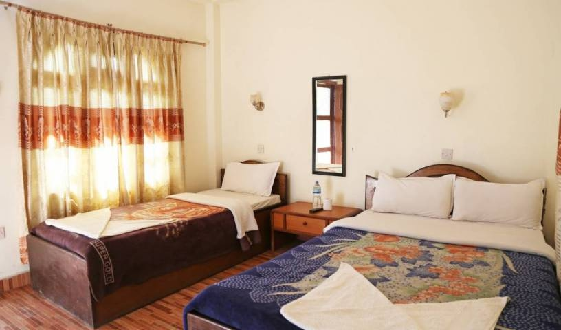 Hotel Jungle Vista - Get cheap hostel rates and check availability in Bharatpur 9 photos