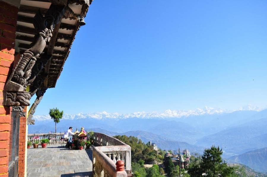 Peaceful Cottage and Cafe Du Mont, Nagarkot, Nepal, scenic hostels in picturesque locations in Nagarkot