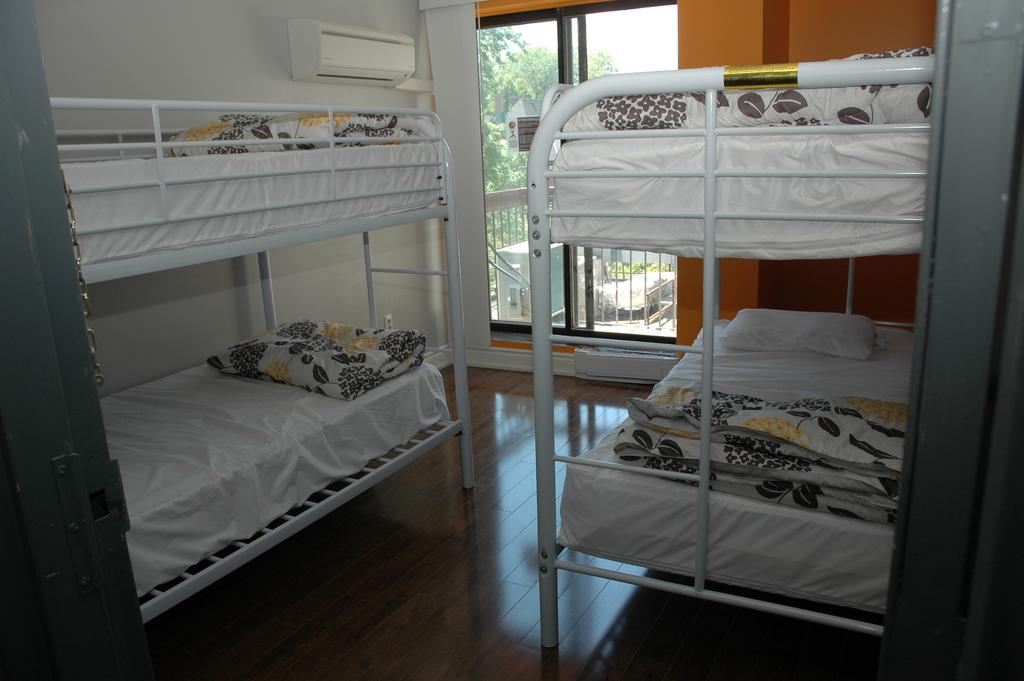 College Backpackers, Toronto, Ontario, compare with famous sites for hostel bookings in Toronto