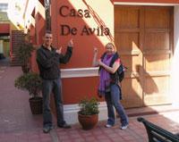 Casa de Avila Hotel, Arequipa, Peru, Peru hostels and hotels
