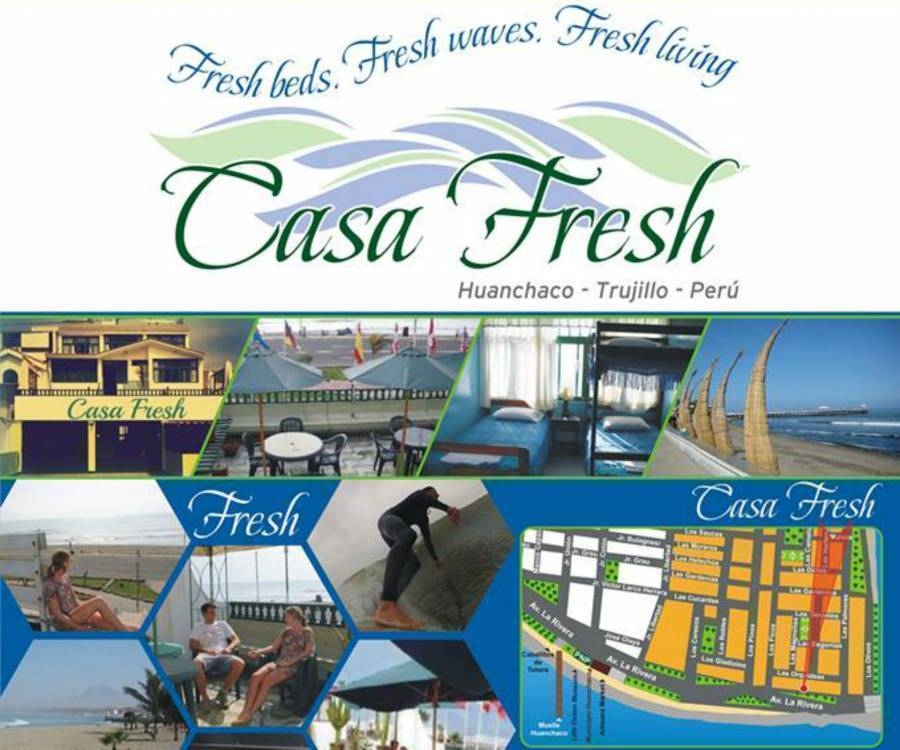 Casa Fresh, Huanchaco, Peru, Peru hostels and hotels