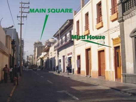 Misti House Posada, Arequipa, Peru, Peru hostels and hotels