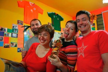 Pay Purix Backpackers Hostel, Lima, Peru, the best locations in Lima
