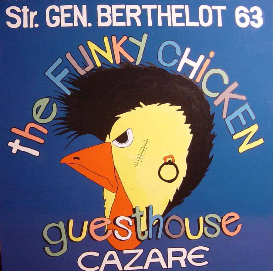 The Funky Chicken Hostel, Bucharest, Romania, Romania bed and breakfasts and hotels