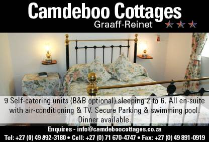 Camdeboo Cottages B and B, Graaff-Reinet, South Africa, South Africa hostels and hotels