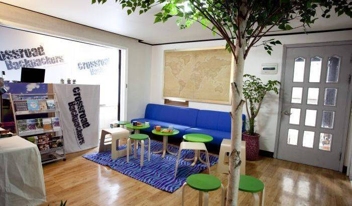 Crossroad Backpackers Hongdae - Search available rooms and beds for hostel and hotel reservations in Seoul 13 photos
