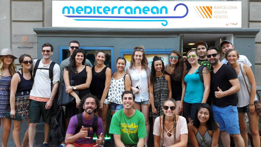 Mediterranean Hostel Barcelona, Barcelona, Spain, Spain hostels and hotels