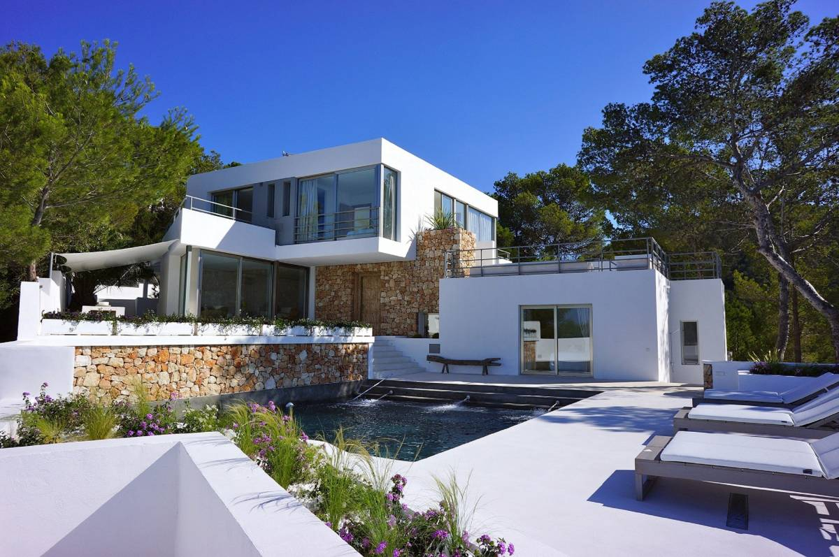 Villa With Amazing Sea Views in Sant Jos, Ibiza, Spain, Spain bed and breakfasts and hotels