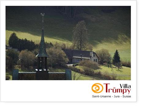 Villa Trumpy, Saint-Ursanne, Switzerland, Лучшие места для проживания в городе в Saint-Ursanne
