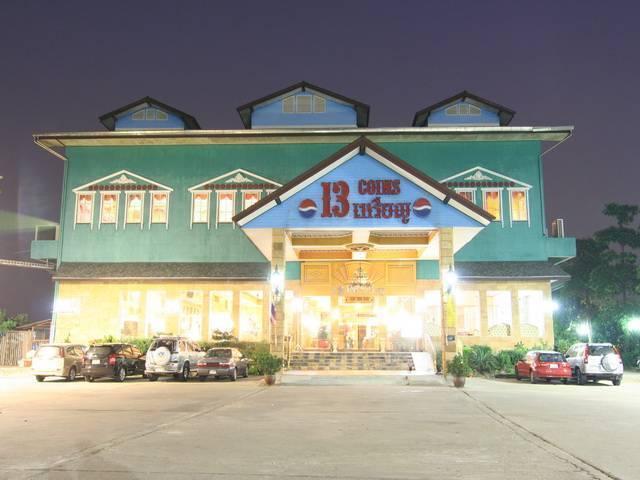 13 Coins Airport Hotel Minburi, Bang Kho Laem, Thailand, Thailand giường ngủ và bữa ăn sáng và khách sạn