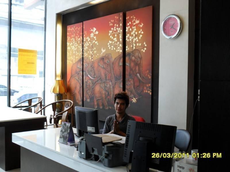 507 Residence Bangkok, Bangkok, Thailand, Thailand giường ngủ và bữa ăn sáng và khách sạn