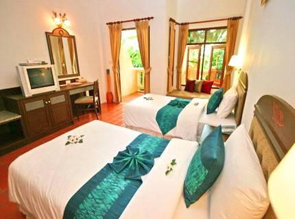 Banburee Resort and Spa, Ban Mae Nam, Thailand, Giường & Bữa ăn sáng cho du khách thế giới trong Ban Mae Nam