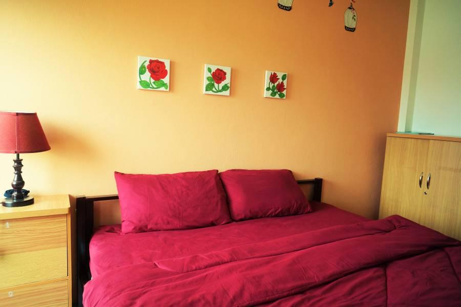 CM City Hostel, Amphoe Muang, Thailand, Thailand giường ngủ và bữa ăn sáng và khách sạn
