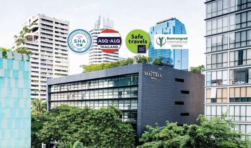 Maitria Hotel Sukhumvit 18 - Search available rooms and beds for hostel and hotel reservations in Bangkok 8 photos
