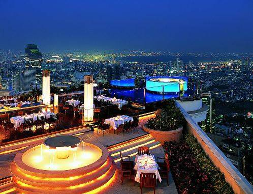 Lebua at State Tower, Bangkok, Thailand, best bed & breakfasts for couples in Bangkok