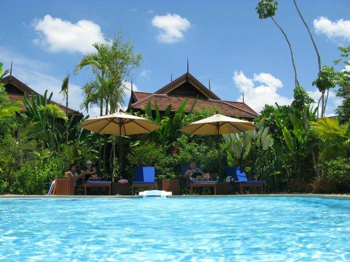 Oriental Siam Resort Chiang Mai, Chiang Mai, Thailand, Thailand giường ngủ và bữa ăn sáng và khách sạn