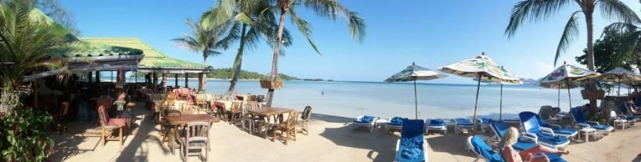 Papillon Resort, Amphoe Ko Samui, Thailand, Thailand giường ngủ và bữa ăn sáng và khách sạn