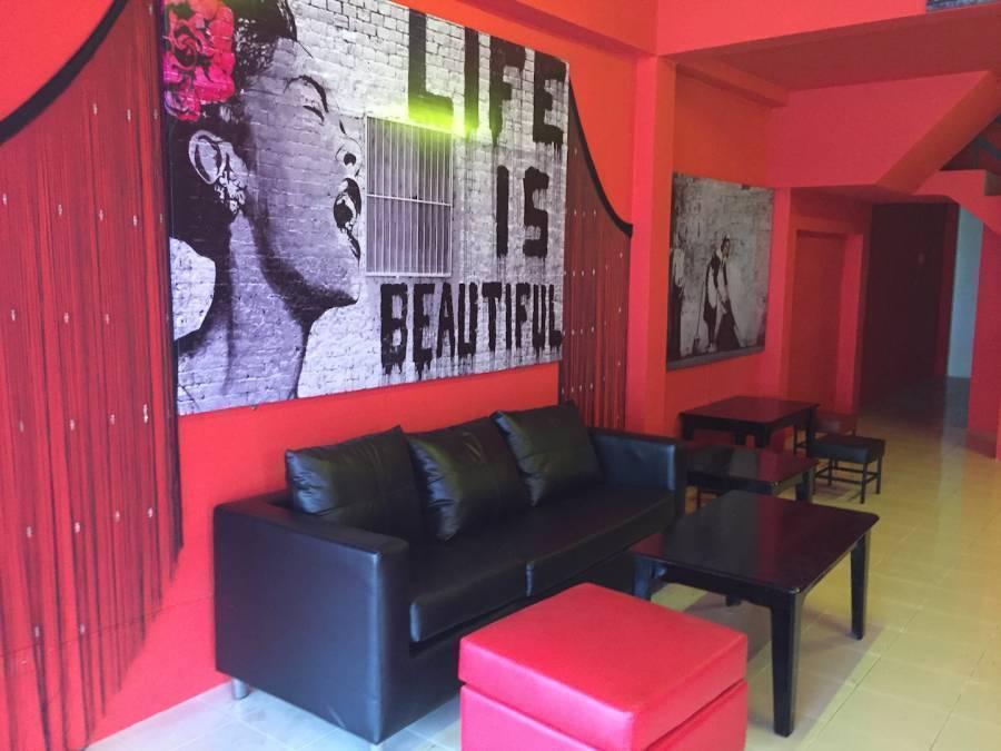 Red Boutique Hostel, Ko Phangan, Thailand, Miten löytää edullinen matkat ja hostellit sisään Ko Phangan