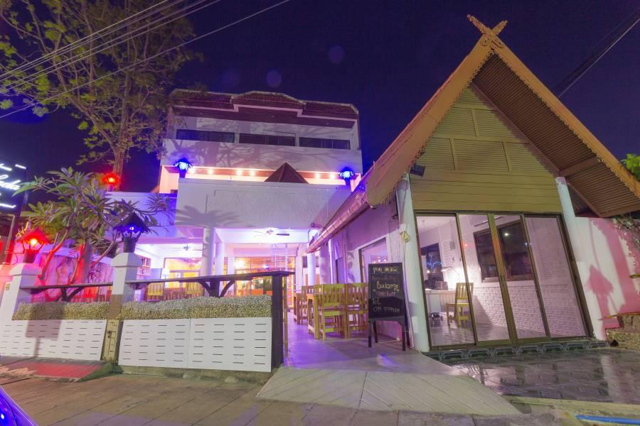 Residence Palada, Ban Hua Hin, Thailand, Thailand giường ngủ và bữa ăn sáng và khách sạn