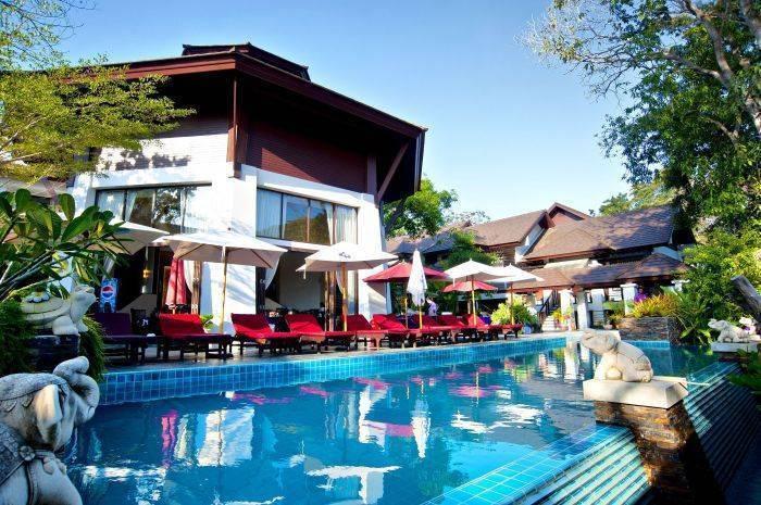 Samed Pavilion Resort, Koh Samet, Thailand, Thailand giường ngủ và bữa ăn sáng và khách sạn