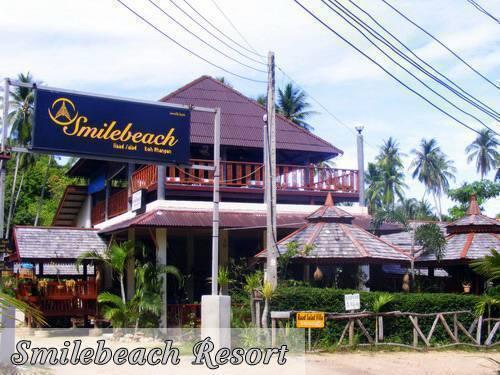 Smile Beach Resort, Ko Phangan, Thailand, Thailand giường ngủ và bữa ăn sáng và khách sạn