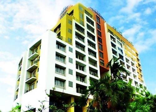Sn Mansion(Sarasinee Mansion), Din Daeng, Thailand, Thailand giường ngủ và bữa ăn sáng và khách sạn