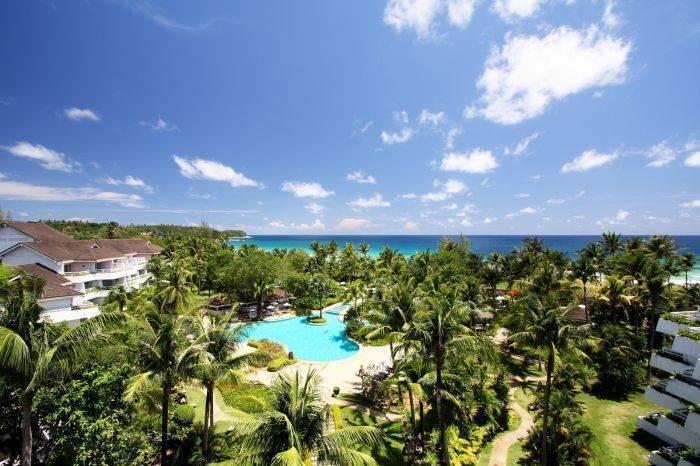 Thavorn Palm Beach Resort, Karon Beach, Thailand, Thailand giường ngủ và bữa ăn sáng và khách sạn
