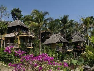 The Spa Kohchang Resort, Ko Chang Tai, Thailand, Thailand giường ngủ và bữa ăn sáng và khách sạn