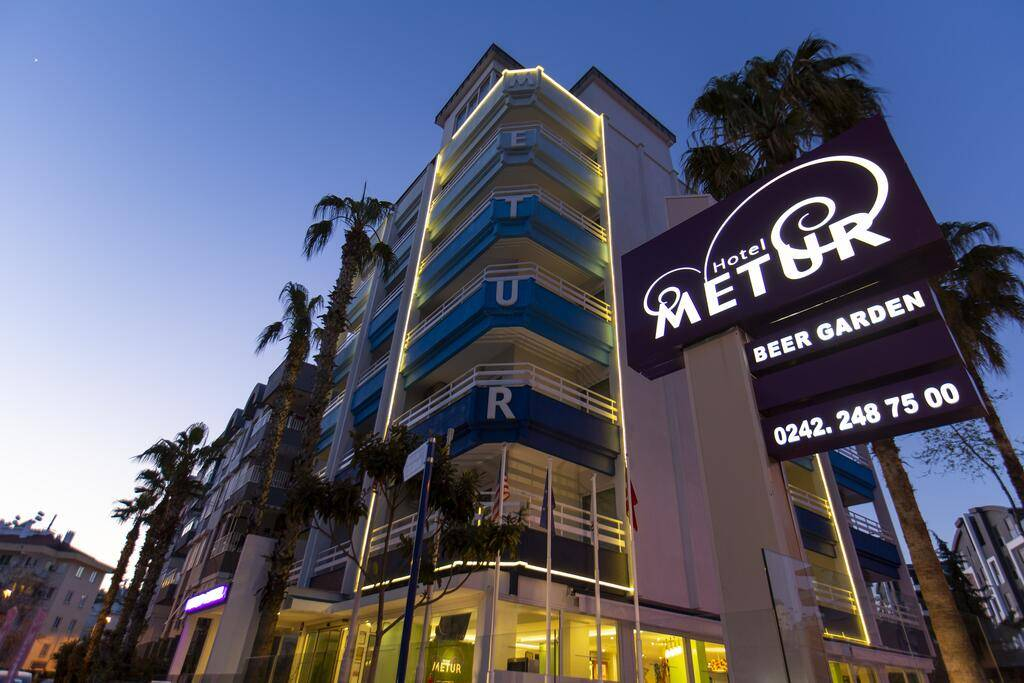 Metur Hotel, Antalya, Turkey, best cities to visit this year with bed & breakfasts in Antalya