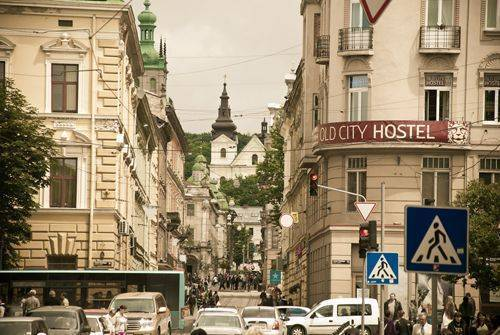 Old City Hostel, L'viv, Ukraine, economy bed & breakfasts in L'viv