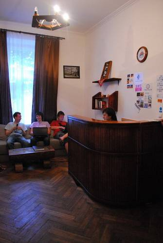 Old Ukrainian Home Hostel, L'viv, Ukraine, how to use points and promotional codes for travel in L'viv