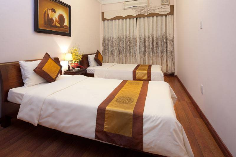 Hanoi Lucky Queen Hotel, Ha Noi, Viet Nam, Krevet prve klase & doručak u Ha Noi