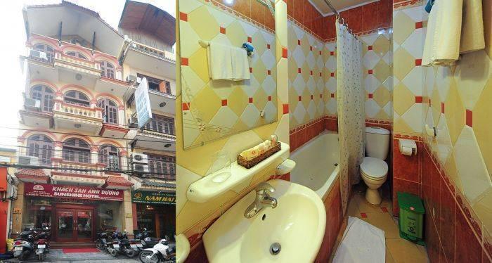 Sunshine 1 Hotel, Ha Noi, Viet Nam, Viet Nam giường ngủ và bữa ăn sáng và khách sạn