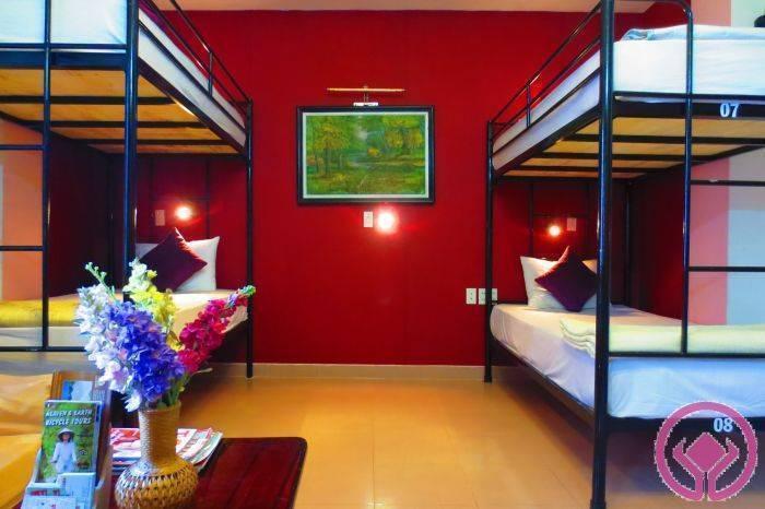 Tigon Hostel, Hue, Viet Nam, hostelleja katolla baareja ja ravintoloita sisään Hue